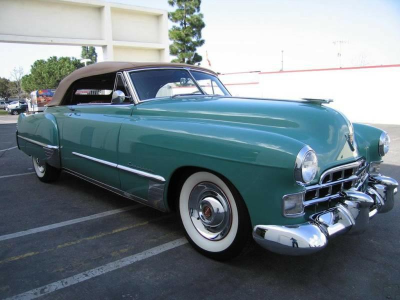 Cadillac Photo Album 1940 1949 1948 Series62 Conv 08 Eb