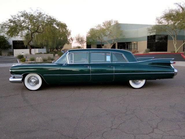 Cadillac Photo Album 1950 1959 1959 Fleetwood 75 Limo 03 Eb